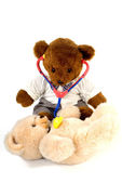 Doctor bear — Stock Photo