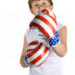 Boy with boxing-gloves — Stock Photo #2302566