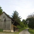Wooden barn — Stock Photo