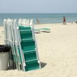 Empty beach — Stock Photo