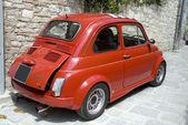 Little famous car — Stock Photo