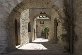 Alley in Assisi — Stock Photo