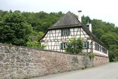 Traditional German house — Stock Photo