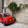 Stock Photo: Red Italian car