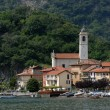 Village at the Lago Maggiore - Stock Photo