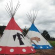Tipi for Indian — Stock Photo