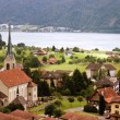 Typical village in Switzerland — Stock Photo #2332671
