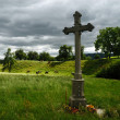 Stock Photo: Memorial cross