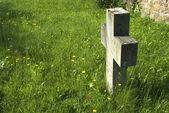 Einfaches Grab — Stockfoto