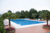 Luxury swimming-pool — Stock Photo