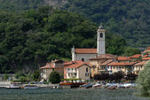 Village at the Lago Maggiore — Stock Photo
