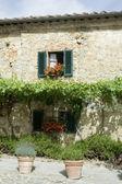 Romantic Italian house — Stock Photo
