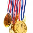 Golden medals — Stock Photo