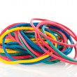 Stock Photo: Rubber elastics
