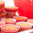 Royalty-Free Stock Photo: Red cupcakes