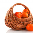 Royalty-Free Stock Photo: Basket tangerines