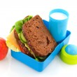 gezonde Lunchbox — Stockfoto