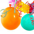 Garland with balloons — Stock Photo