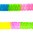 Stock Photo: Colorful party streamers