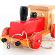Old wooden toy — Stock Photo