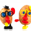 Potato heads — Stock Photo