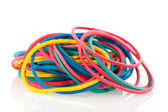 Rubber elastics — Stock Photo