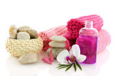 Wellness in pink — Stock Photo