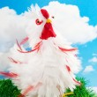Stock Photo: Funny chicken