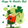Royalty-Free Stock Photo: Happy St Patrick\'s Day Greeting