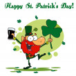 Happy St Patricks Day Greeting — Stock Photo #2340282