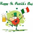 Happy St Patricks Day Greeting — Stock Photo #2340323