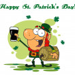 happy st patricks day greeting — Stock Photo #2340339