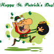happy st patricks day greeting — Stock Photo #2340356