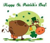 Happy St Patrick's Day Greeting — Stock Photo