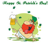Happy St Patricks Day Greeting — Stock Photo