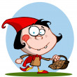 Little Red Riding Hood - Foto de Stock