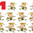 Stock Photo: Number 11 By Eleven Pipers Piping