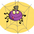 Cartoon spider — Foto de Stock