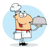 Happy Chef Man — Stock Photo