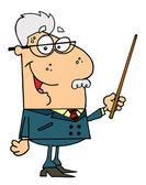 Senior Professor Man — Stock Photo
