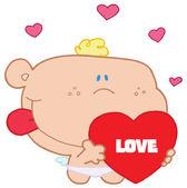 Romantic cupid — Stock Photo