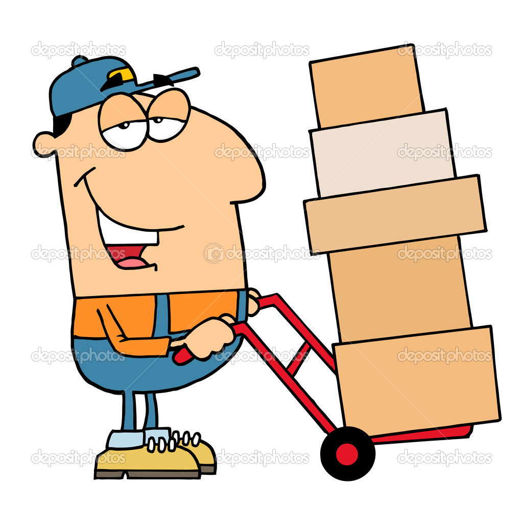 clipart delivery man - photo #14