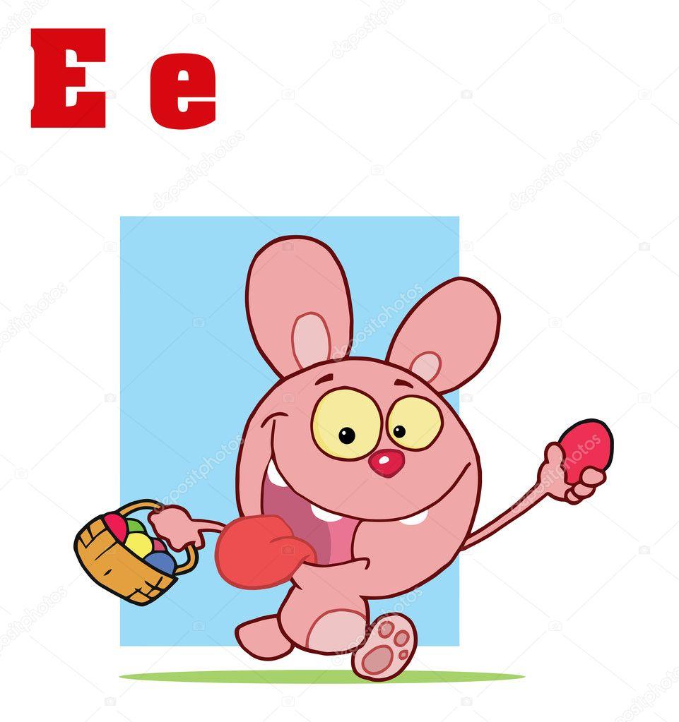 Funny Cartoon Easter Bunnies