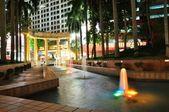 Night fountain — Stock Photo