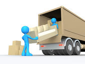 Moving Company — Stock Photo