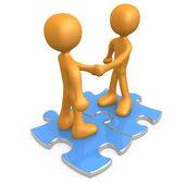 Binding Agreement — Stock Photo