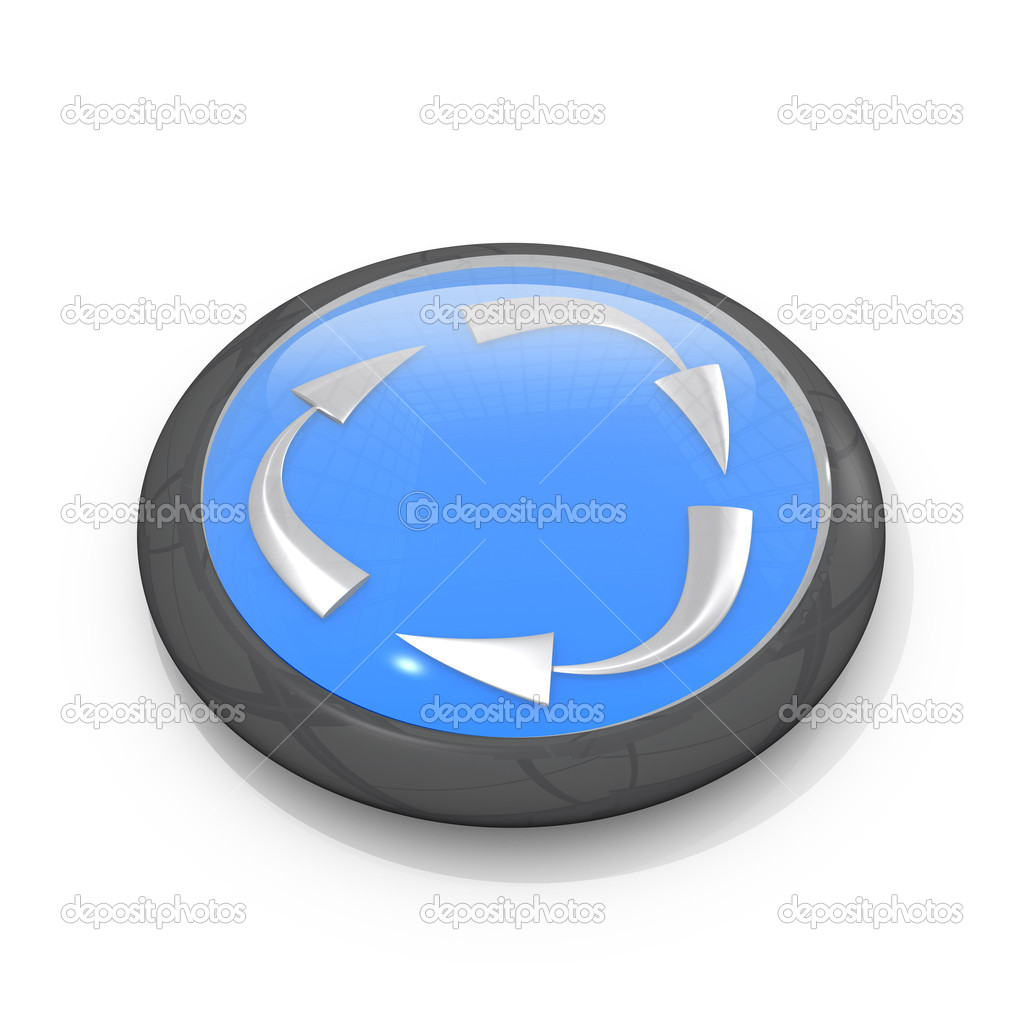 Computer generated image - Recycling Symbol . — Stock Photo #2390013