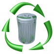 Royalty-Free Stock Photo: Garbage Recycling