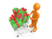 Buying Presents — Stock Photo