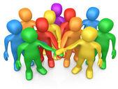Teamwork — Foto Stock